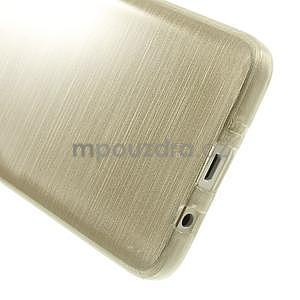 Broušené puzdro na Samsung Galaxy A3 - zlatá - 5