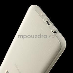Broušené puzdro pre Samsung Galaxy A3 - bílá - 5