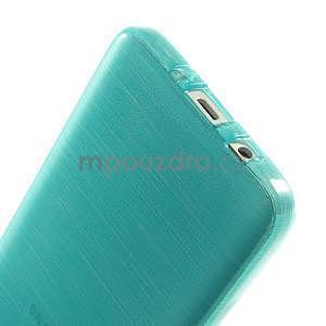 Broušené puzdro pre Samsung Galaxy A3 - tyrkysová - 5