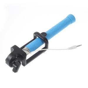 D9X automatická selfie tyč se spínačem - modrá - 5