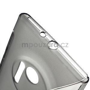 Gélové S-line puzdro pre Nokia Lumia 1020- šedá - 5
