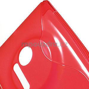 Gélové S-line puzdro pre Nokia Lumia 1020- červené - 5
