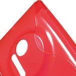 Gélové S-line puzdro pre Nokia Lumia 1020- červené - 5/5