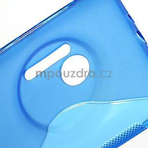 Gélové S-line puzdro pre Nokia Lumia 1020- modré - 5