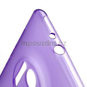 Gélové S-line puzdro pre Nokia Lumia 1020- fialové - 5