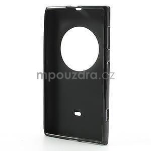 Gélové matné puzdro pre Nokia Lumia 1020- čierné - 5