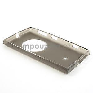 Gélové matné puzdro pre Nokia Lumia 1020- šedé - 5