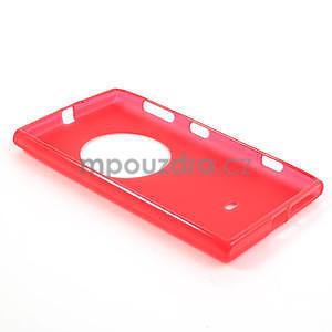 Gélové matné puzdro pre Nokia Lumia 1020- červené - 5