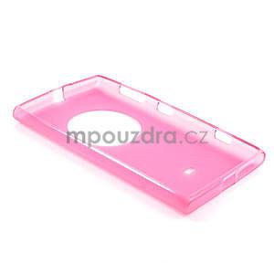 Gélové matné puzdro pre Nokia Lumia 1020- ružové - 5