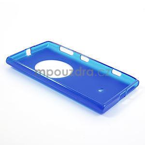 Gélové matné puzdro pre Nokia Lumia 1020- modré - 5