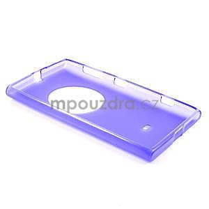 Gélové matné puzdro pre Nokia Lumia 1020- fialové - 5