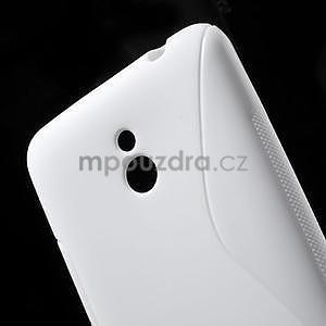Gélové S-line puzdro pre Nokia Lumia 1320- biele - 5
