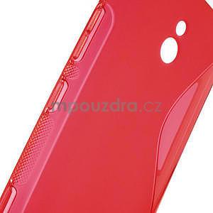 Gélové S-line puzdro pre Nokia Lumia 1320- červené - 5
