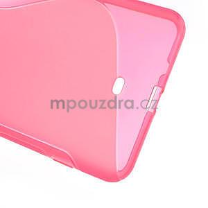 Gélové S-line puzdro pre Nokia Lumia 1320- ružové - 5