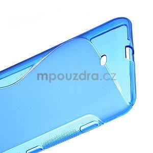 Gélové S-line puzdro pre Nokia Lumia 1320- modré - 5