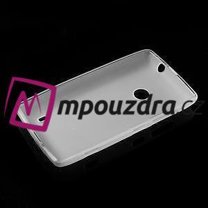 Gélové matné puzdro na Nokia Lumia 520 - biele - 5