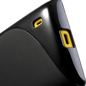 Gélové S-line puzdro na Nokia Lumia 520- čierné - 5