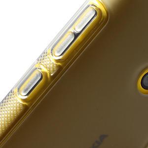 Gélové S-line puzdro na Nokia Lumia 520- sivé - 5