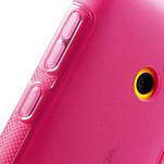 Gélové S-line puzdro na Nokia Lumia 520- růžové - 5/6