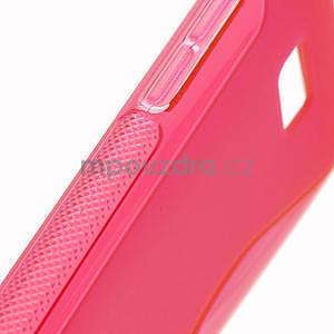Gélové S-line puzdro pre HTC Desire 600- červené - 5