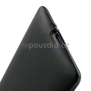 Gélové matné puzdro pre HTC Desire 600- čierné - 5