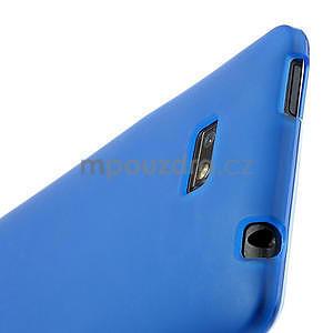 Gélové matné puzdro pre HTC Desire 600- modré - 5
