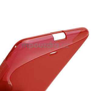 Gélové S-line puzdro pre Nokia Lumia 625- červené - 5