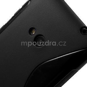Gélové S-line puzdro pre Nokia Lumia 625- čierné - 5