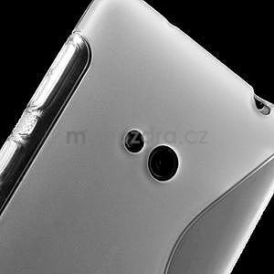 Gélové S-line puzdro pre Nokia Lumia 625- transparentný - 5