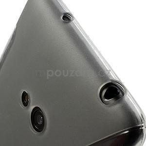 Gélové S-line puzdro pre Nokia Lumia 625- sivé - 5