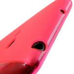 Gélové S-line puzdro pre Nokia Lumia 625- ružové - 5/6