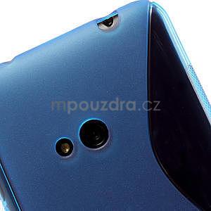 Gélové S-line puzdro pre Nokia Lumia 625- modré - 5