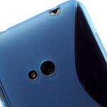 Gélové S-line puzdro pre Nokia Lumia 625- modré - 5/6