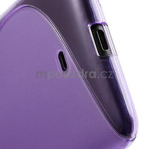 Gélové S-line puzdro pre Nokia Lumia 625- fialové - 5
