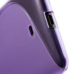 Gélové S-line puzdro pre Nokia Lumia 625- fialové - 5/6