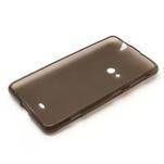 Gélové matné puzdro pre Nokia Lumia 625- sivé - 5/5