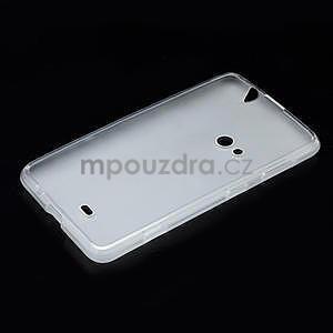 Gélové matné puzdro pre Nokia Lumia 625- biele - 5