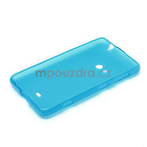 Gélové matné puzdro pre Nokia Lumia 625- svetlo modré - 5