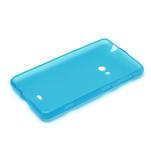 Gélové matné puzdro pre Nokia Lumia 625- svetlo modré - 5/5