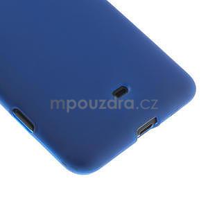 Gélové matné puzdro pre Nokia Lumia 625- modré - 5