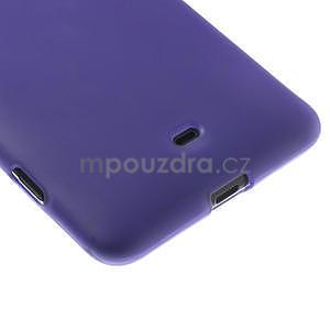 Gélové matné puzdro pre Nokia Lumia 625- fialové - 5