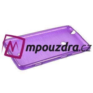 Gélové kartáčové puzdro na Nokia Lumia 625 - fialové - 5