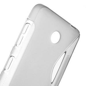 Gélové S-line puzdro na Nokia Lumia 630- sivé - 5