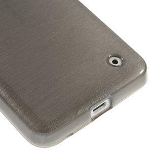 Gélové Kartáčové puzdro na Nokia Lumia 630- šedé - 5