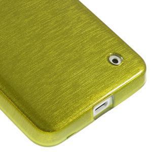 Gélové Kartáčové puzdro na Nokia Lumia 630- zelené - 5