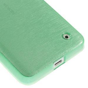 Gélové Kartáčové puzdro na Nokia Lumia 630- zelenomodré - 5