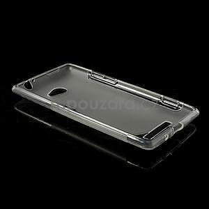 Gélové S-line puzdro pre HTC Windows phone 8X- transparentný - 5