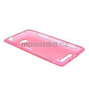 Gélové S-line puzdro pre HTC Windows phone 8X- ružové - 5