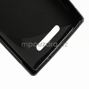 Gélové S-liné puzdro pre Nokia Lumia 925- čierné - 5