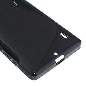 Gélové S-line puzdro na Nokia Lumia 930- čierné - 5